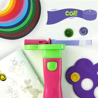Pink Super Quiller & Buddies - Ultimate Quilling tool set - Crafty Wizard