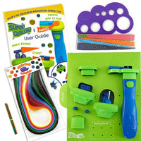 Blue Super Quiller & Buddies - Ultimate Quilling tool set - Crafty Wizard