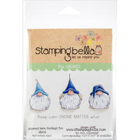 Stamping Bella - Gnomes Have Feelings Too - Rubber Stamp Set