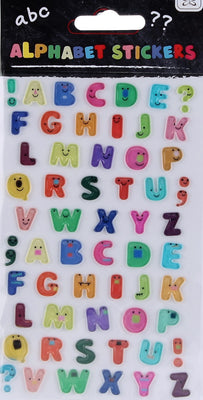50pcs 3D alphabet stickers - Crafty Wizard