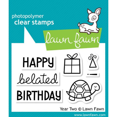 Lawn Fawn - Year Two - Clear Stamp Set - Crafty Wizard