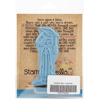 Stamping Bella Oddball Boy Graduate - Rubber Stamp Set