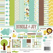 "12"" x 12"" paper pad - Bundle of Joy Boy"