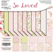 "12"" x 12"" paper pad - So Loved - Crafty Wizard"