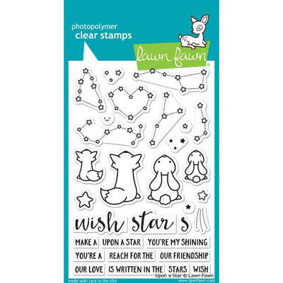 Lawn Fawn - Upon A Star - Clear Stamp Set