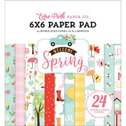 "6"" x 6"" paper pad - Welcome Spring"