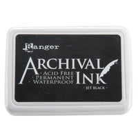 Ranger Archival Ink Pad - Jet Black - Crafty Wizard