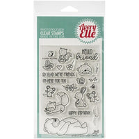 Avery Elle - Beary Good Friends - Clear Stamp Set - Crafty Wizard