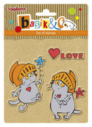 ScrapBerry's Basik's New Adventure - Big Date - Clear Stamp Set - Crafty Wizard