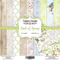 "8"" x 8"" paper pad - Smile of Spring - Crafty Wizard"
