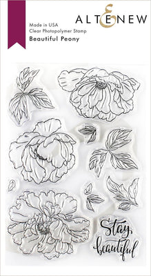 Altenew - Beautiful Peony - Clear Stamp Set