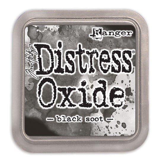 Tim Holtz Distress Oxide Ink Pad - Black Soot - Crafty Wizard