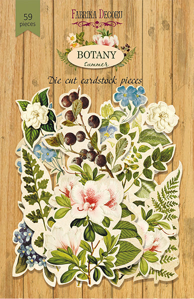 58pcs Botany Summer die cuts - Crafty Wizard