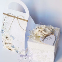 GoatBox Exploding box carrier - matte white - Crafty Wizard