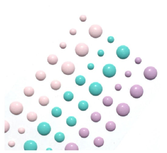 Enamel Dots - Pastels - Crafty Wizard
