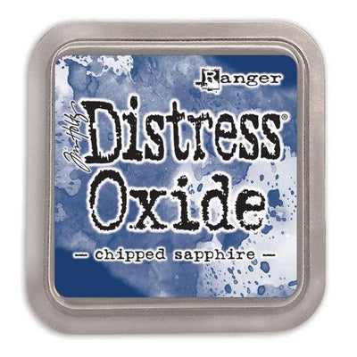 Tim Holtz Distress Oxide Ink Pad - Chipped Sapphire - Crafty Wizard