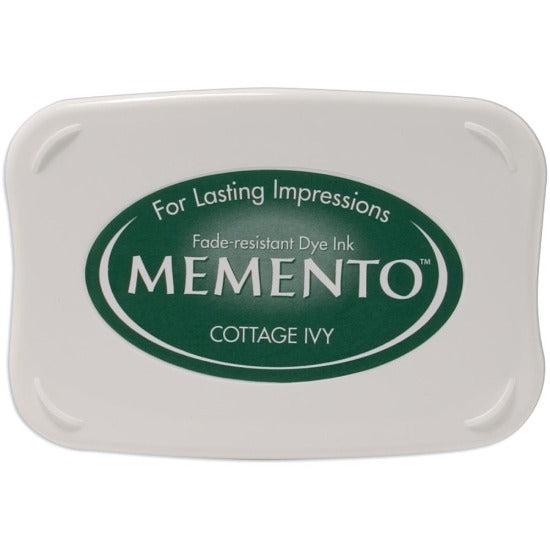 Tsukineko Memento Ink Pad - Cottage Ivy - Crafty Wizard