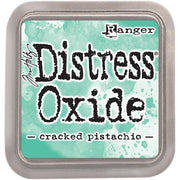 Tim Holtz Distress Oxide Ink Pad - Cracked Pistachio - Crafty Wizard