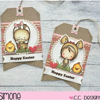 C.C. Designs - Easter Cuties - Stamp Set - Crafty Wizard