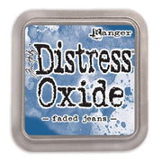 Tim Holtz Distress Oxide Ink Pad - Faded Jeans - Crafty Wizard