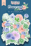 63pcs Flower Mood die cuts - Crafty Wizard