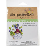 Stamping Bella  - Flowery Gnomes - Rubber Stamp Set - Crafty Wizard