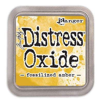 Tim Holtz Distress Oxide Ink Pad - Fossilized Amber - Crafty Wizard