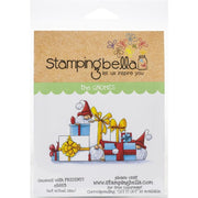 Stamping Bella  - Gnomes with presents - Rubber Stamp Set - Crafty Wizard
