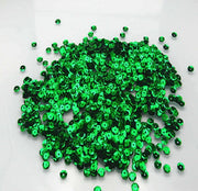 6.5mm Green sequins - Crafty Wizard