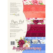 A4 paper pad - Happy Anniversary - Crafty Wizard