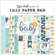 "6"" x 6"" paper pad - Hello Baby - It's a Boy"