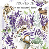 54pcs Journey to Provence die cuts
