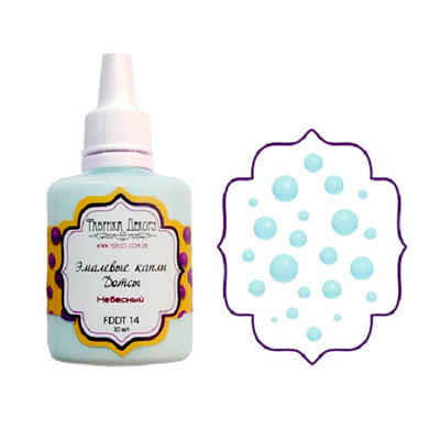 Liquid enamel drops - Heavenly - Crafty Wizard