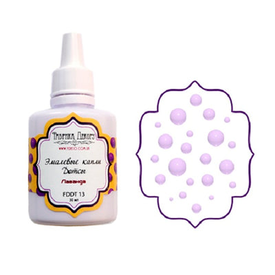 Liquid enamel drops - Lavender - Crafty Wizard
