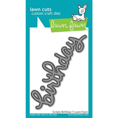 Lawn Fawn - Scripty Birthday Cutting Die