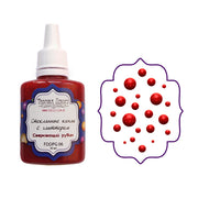 Liquid glass glitter drops - Sparkling ruby - Crafty Wizard