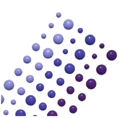 Enamel Dots - Lilac Shades - Crafty Wizard