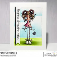 Stamping Bella Long - Stemmed Oddball - Rubber Stamp Set