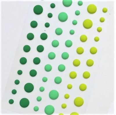 Enamel Dots - Matte Meadow
