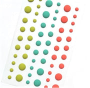 Enamel Dots - Matte Tropical