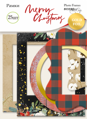 25pcs Merry Christmas frames and tags - Crafty Wizard