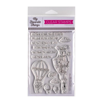 My Favorite Things Stacey Yacula - Sky High - Clear Stamp Set - Crafty Wizard