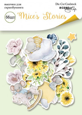 66pcs Mice's Stories die cuts - Crafty Wizard
