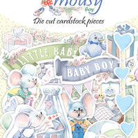 42pcs My Little Mousy Boy die cuts