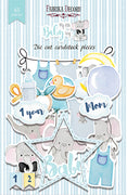45pcs My Little Baby Boy die cuts - Crafty Wizard