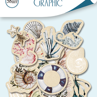 58pcs Nautical Graphic die cuts - Crafty Wizard