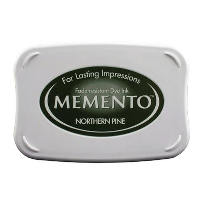 Tsukineko Memento Ink Pad - Northern Pine - Crafty Wizard