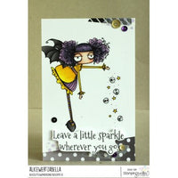 Stamping Bella - Oddball Sparkle Fairy - Rubber Stamp Set - Crafty Wizard
