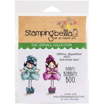 Stamping Bella - Oddball Stepsisters - Rubber Stamp Set