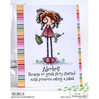 Stamping Bella  - Oddball with a Martini - Rubber Stamp Set